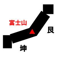 日本列島を単純化した図